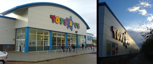 Toys R Us Food : Fj architects retail non food refurbishment toys